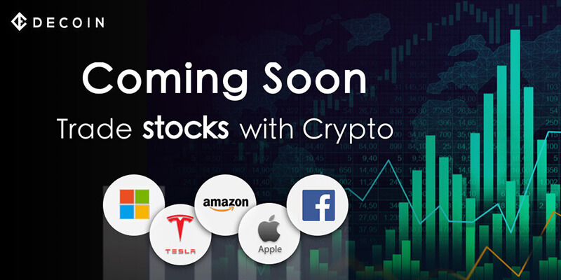 Soon you can trade more stocks on Decoin