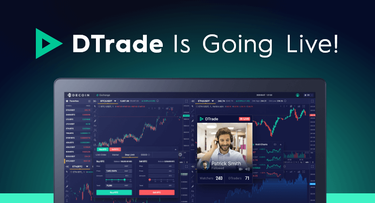 Dtrade is now Live!